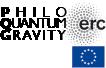 logo ERC PhiloQuantum Gravity